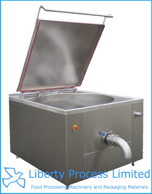 High Pressure Steam Boiling Pan